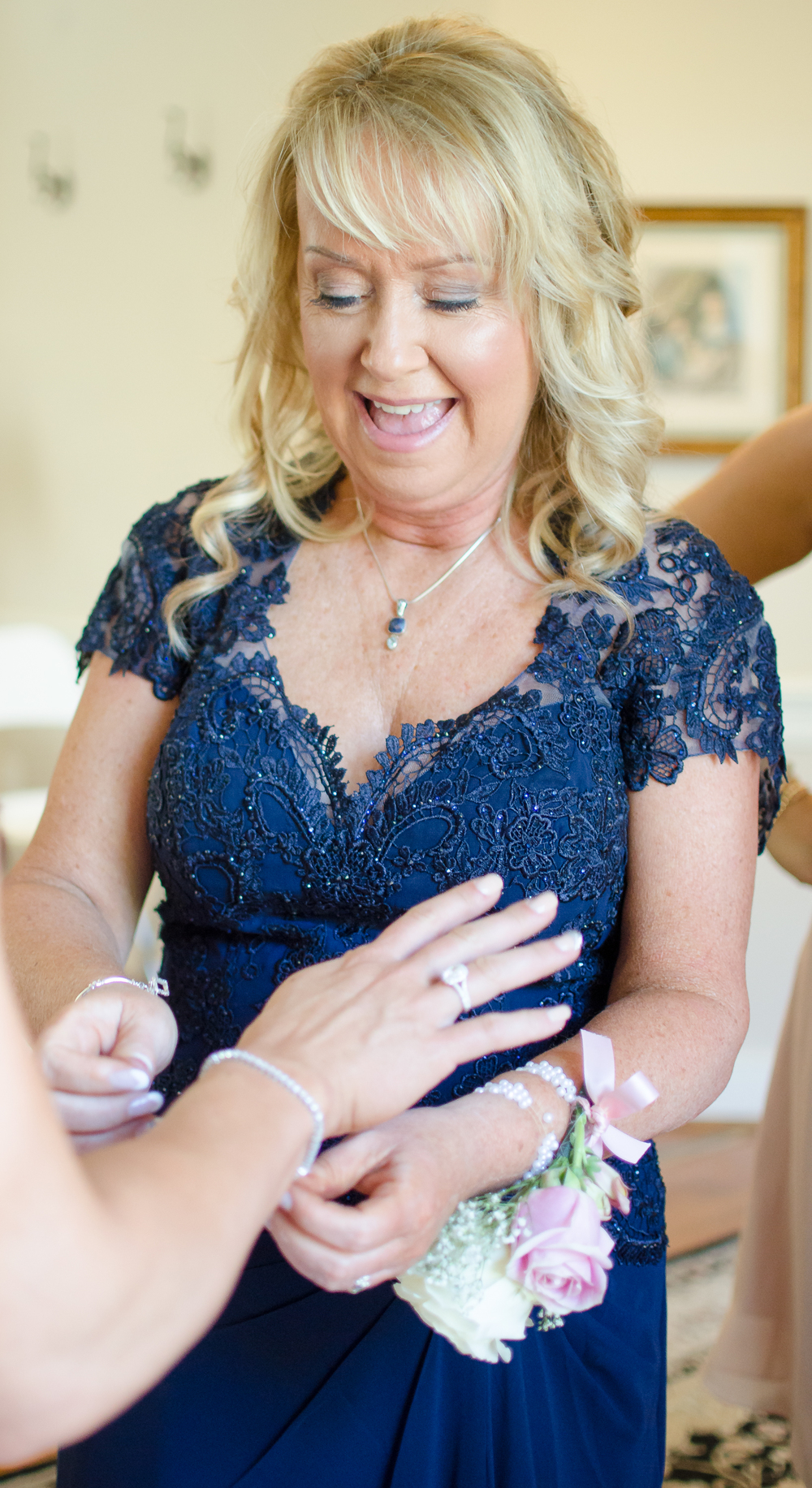 Springfield Manor Winery & Distillery Wedding Bride mom getting ready Photo