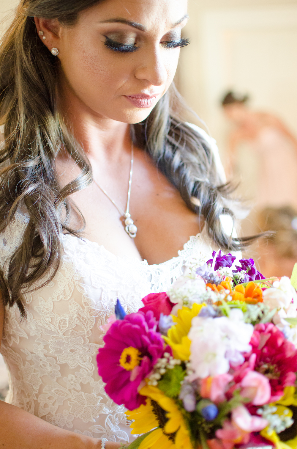 Springfield Manor Winery & Distillery Wedding Bride Photo