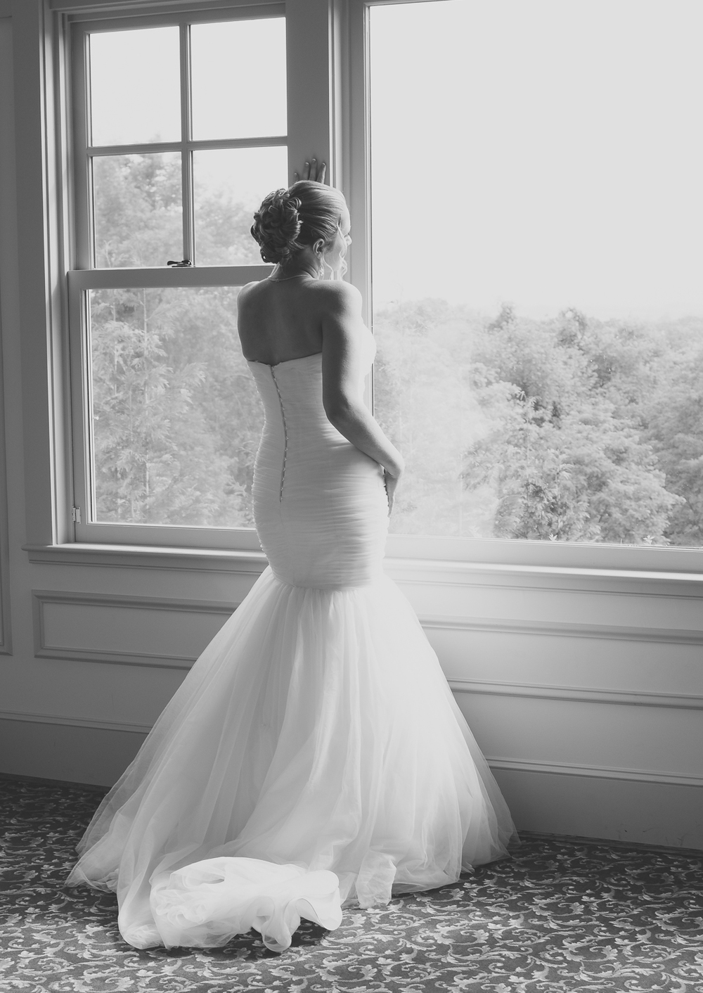 Catoctin Hall at Musket Ridge Wedding Bride Photo