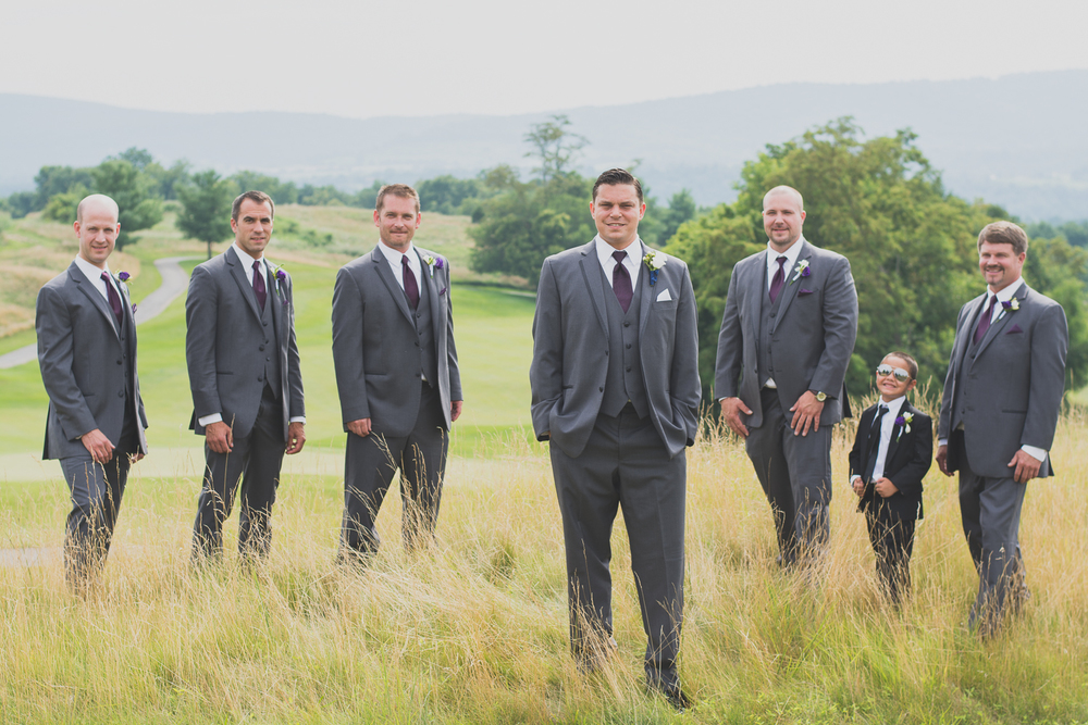 Catoctin Hall at Musket Ridge Wedding groomsmen Photo