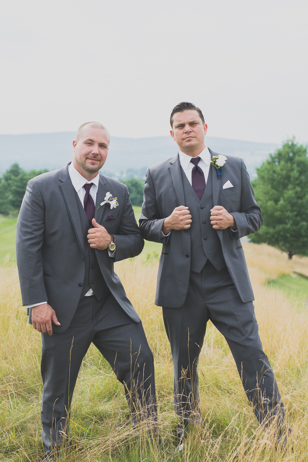 Catoctin Hall at Musket Ridge Wedding best man groom Photo