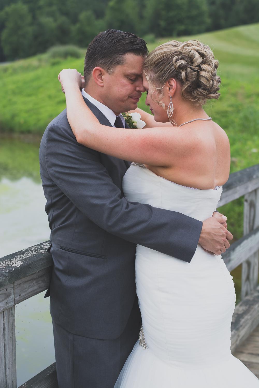 Catoctin Hall at Musket Ridge Wedding bride and groom Photo