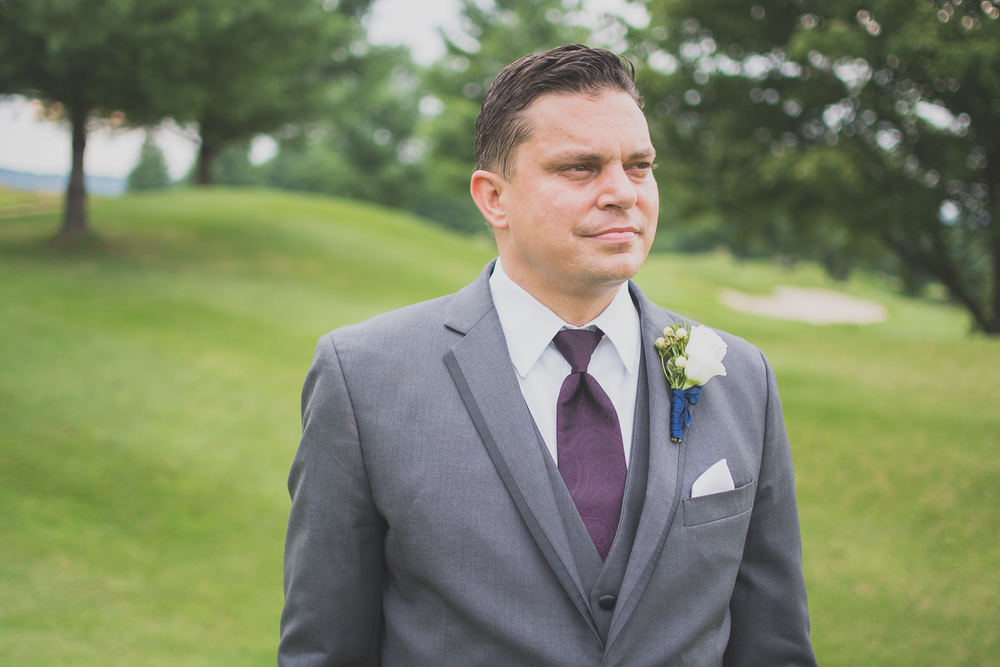 Catoctin Hall at Musket Ridge Wedding groom Photo