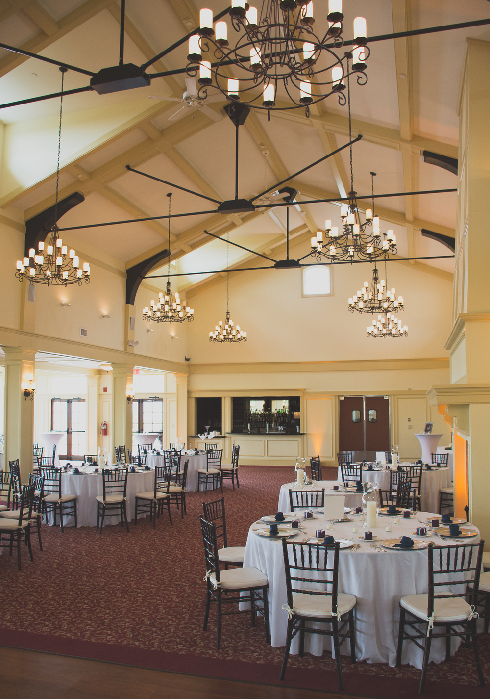 Catoctin Hall at Musket Ridge Wedding Reception Photo