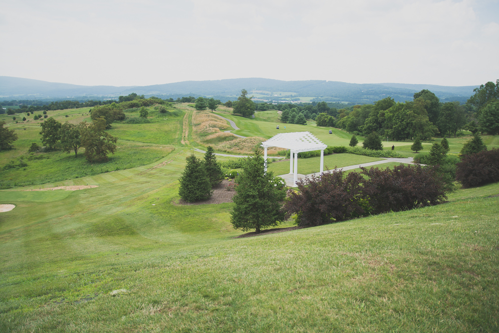 Catoctin Hall at Musket Ridge Wedding Ceremony Photo