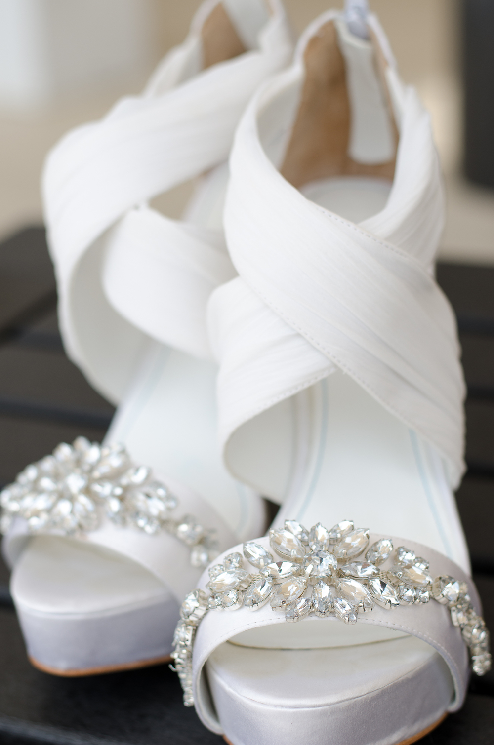 Catoctin Hall at Musket Ridge Wedding Bride Shoes Photo