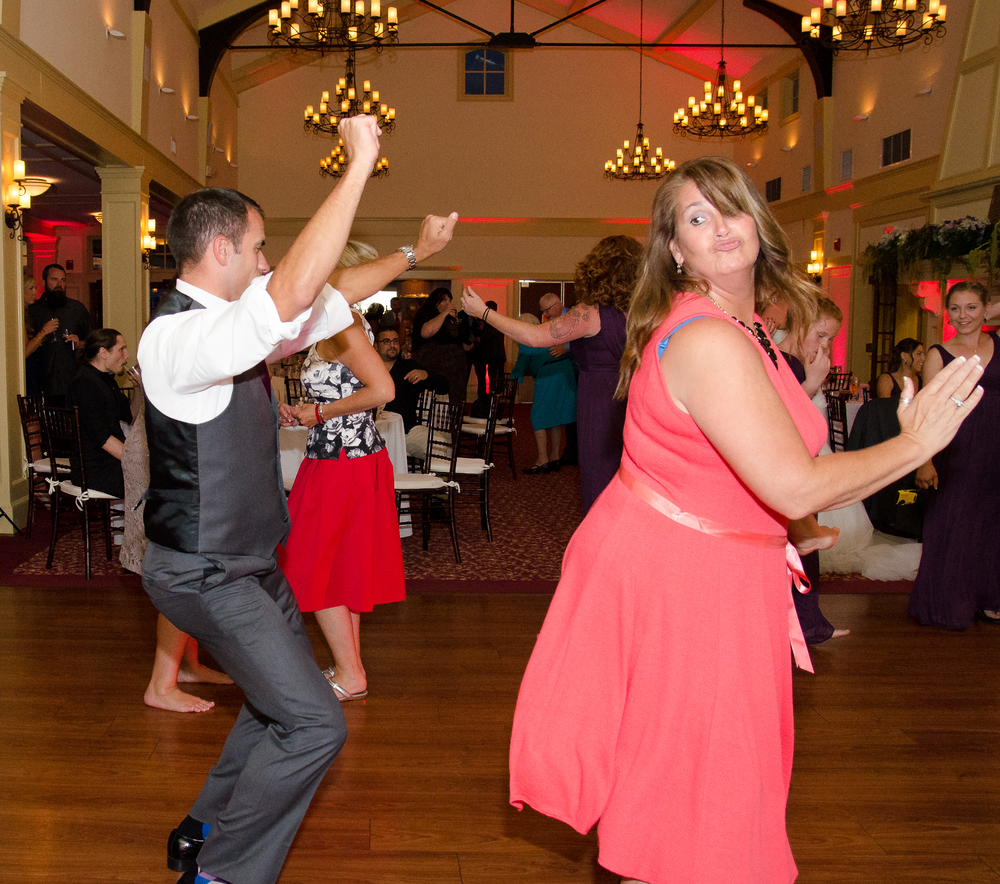 Catoctin Hall at Musket Ridge Wedding reception dancing Photo