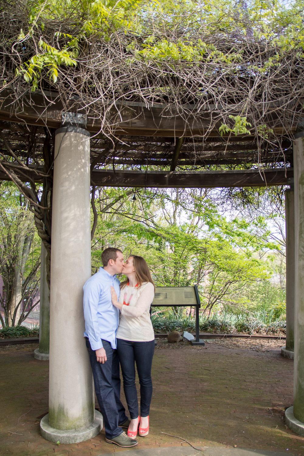 C&O Canal Engagement Photography