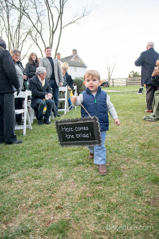 Walker's Overlook Wedding ring bearer Photo
