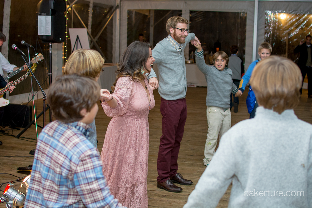 Walker's Overlook Wedding reception dance Photo
