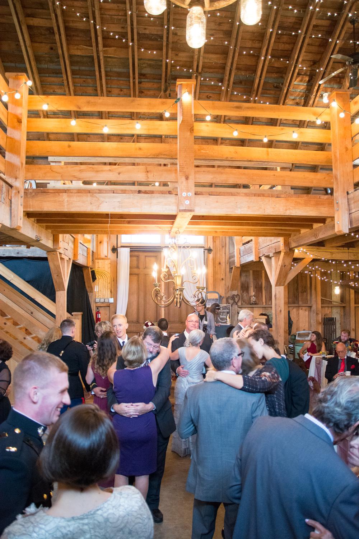 The Glasgow Farm Wedding reception Photo