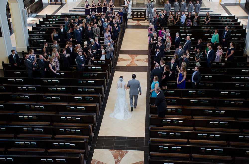 Whitehall Estate and Winery Wedding ceremony aerial birdseye view Photo