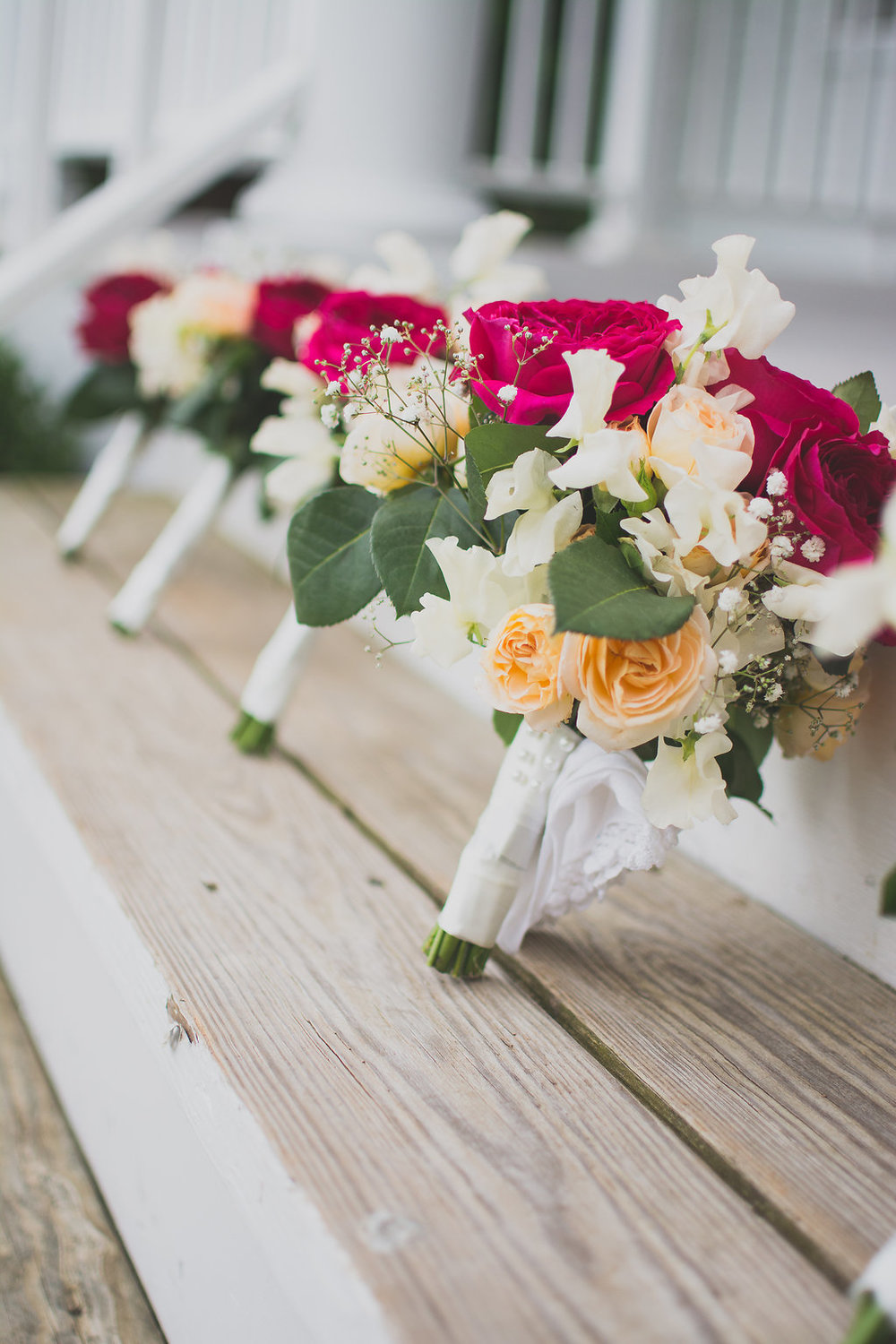 Whitehall Estate and Winery Wedding floral flowers bouquet Photo