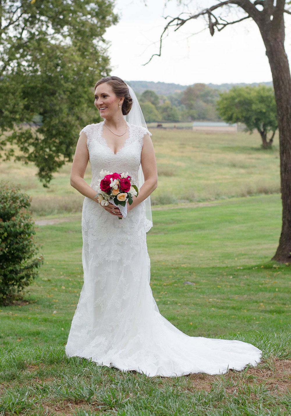Whitehall Estate and Winery Wedding farm bride Photo