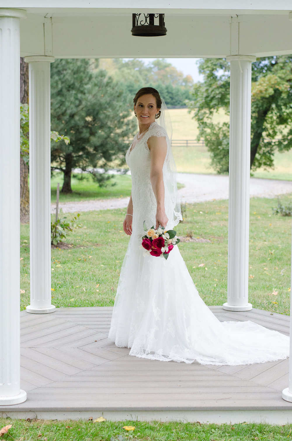 Whitehall Estate and Winery Wedding bride Photo