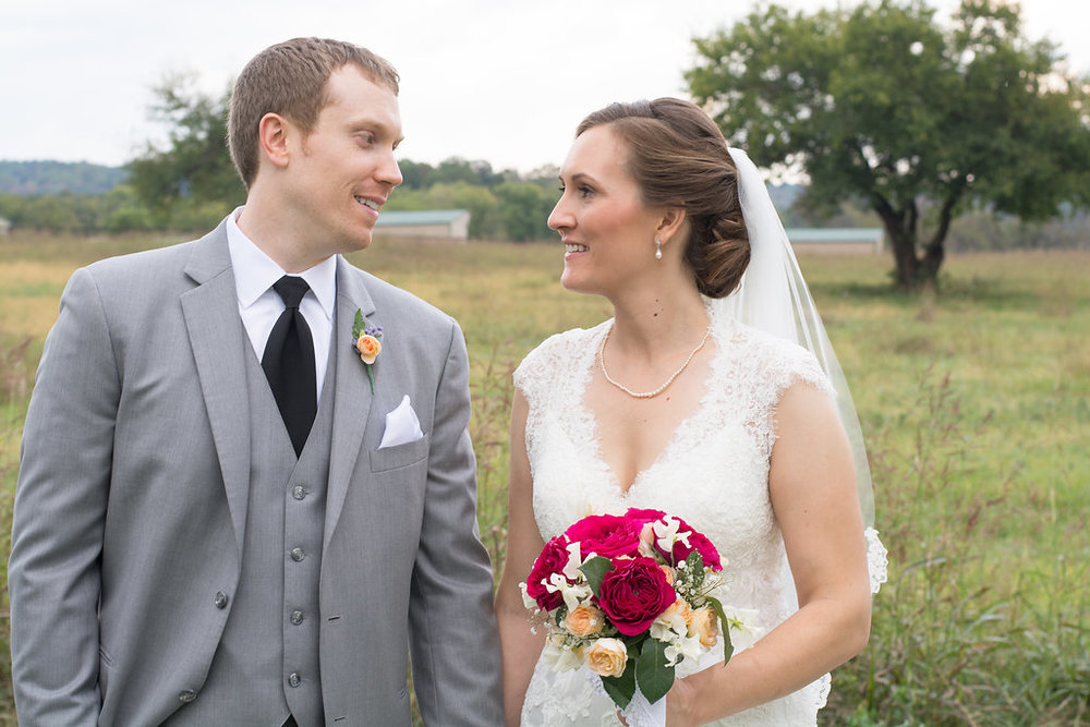 Whitehall Estate and Winery Wedding rustic bride and groom Photo