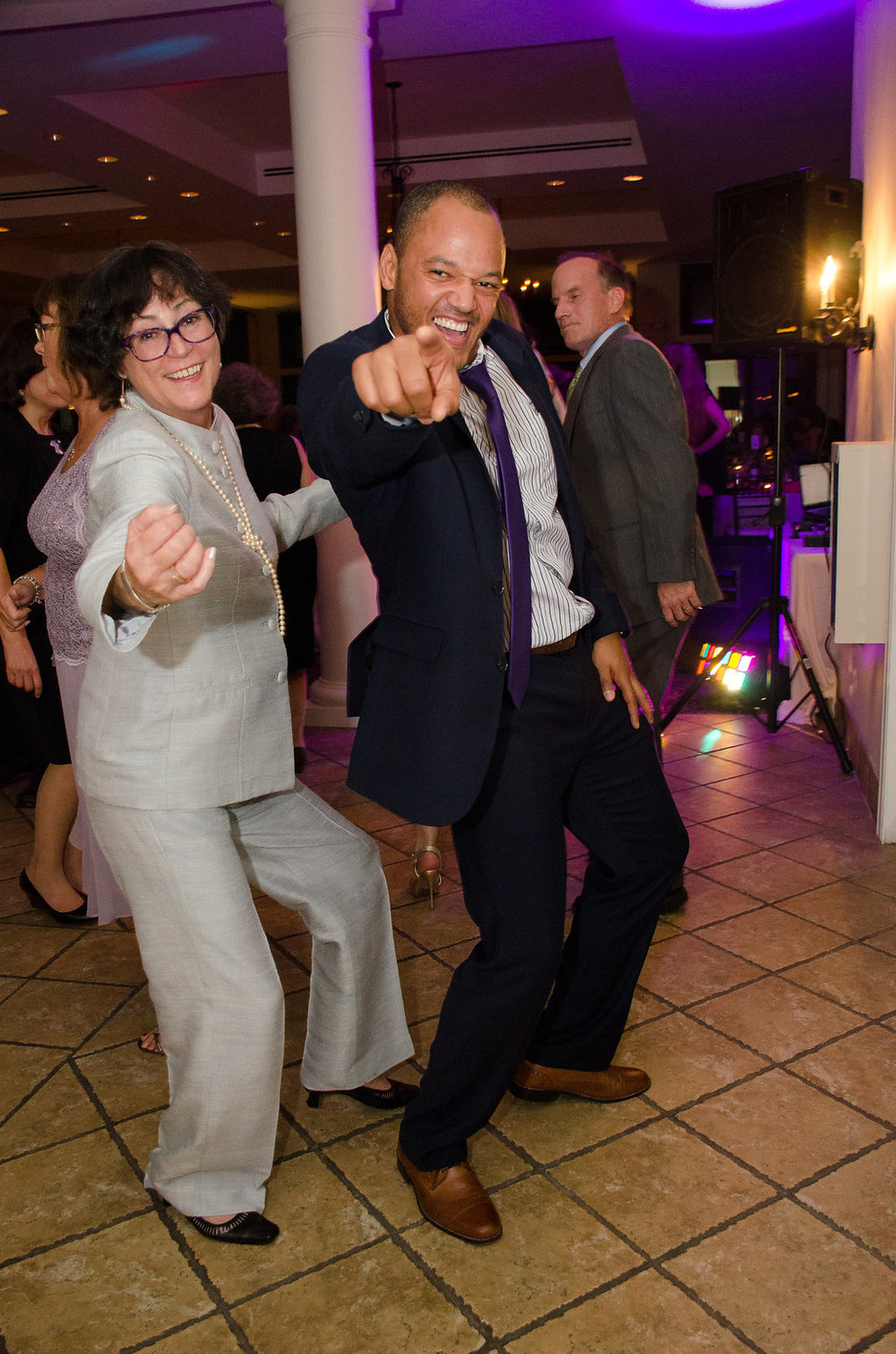 Whitehall Estate and Winery Wedding reception guest dancing Photo