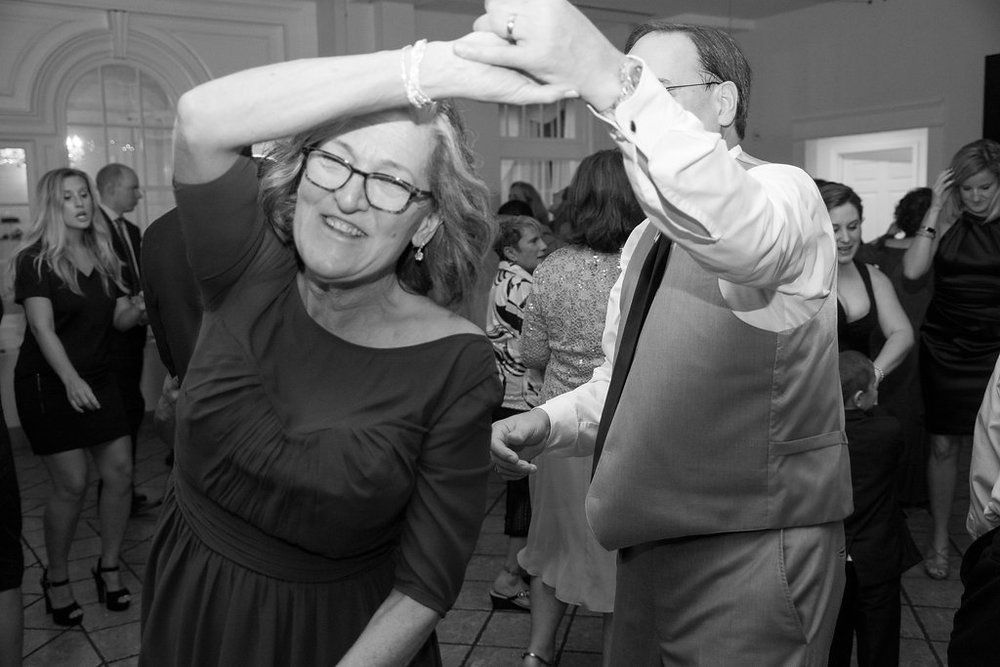 Whitehall Estate and Winery Wedding reception mother and father dancing Photo