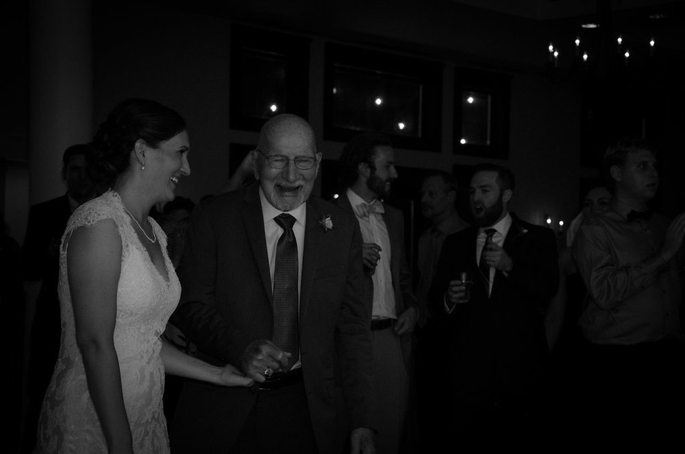 Whitehall Estate and Winery Wedding bride and grandfather Photo