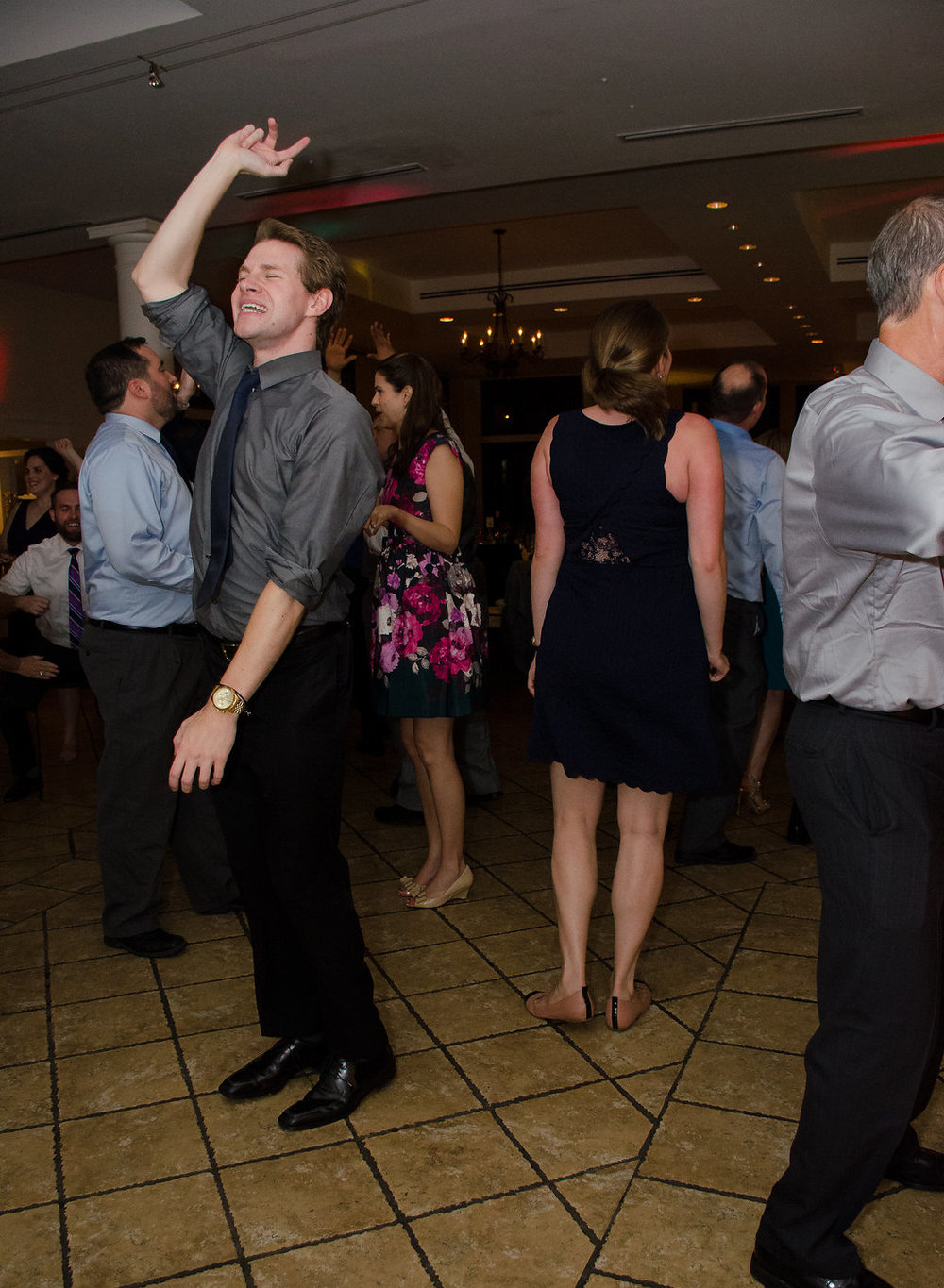 Whitehall Estate and Winery Wedding guest dancing Photo