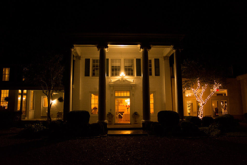 Whitehall Estate and Winery Wedding venue night Photo