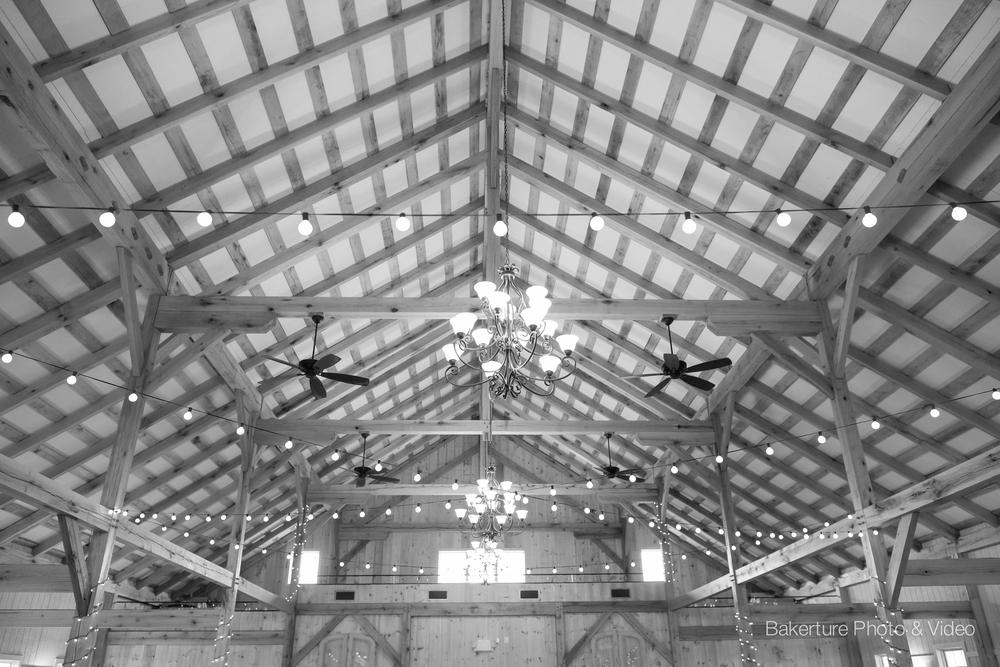 The 5 Best Barn Wedding Venues in Virginia wood rafters Photo
