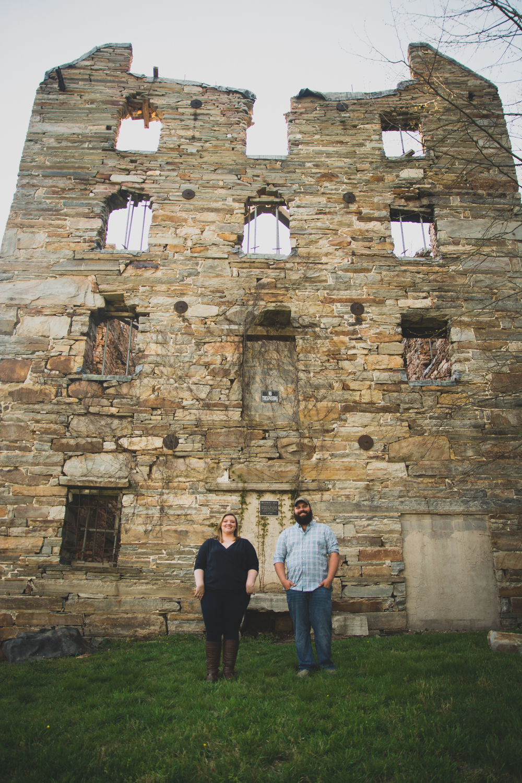 Chapmans Mill Engagement Session Photo
