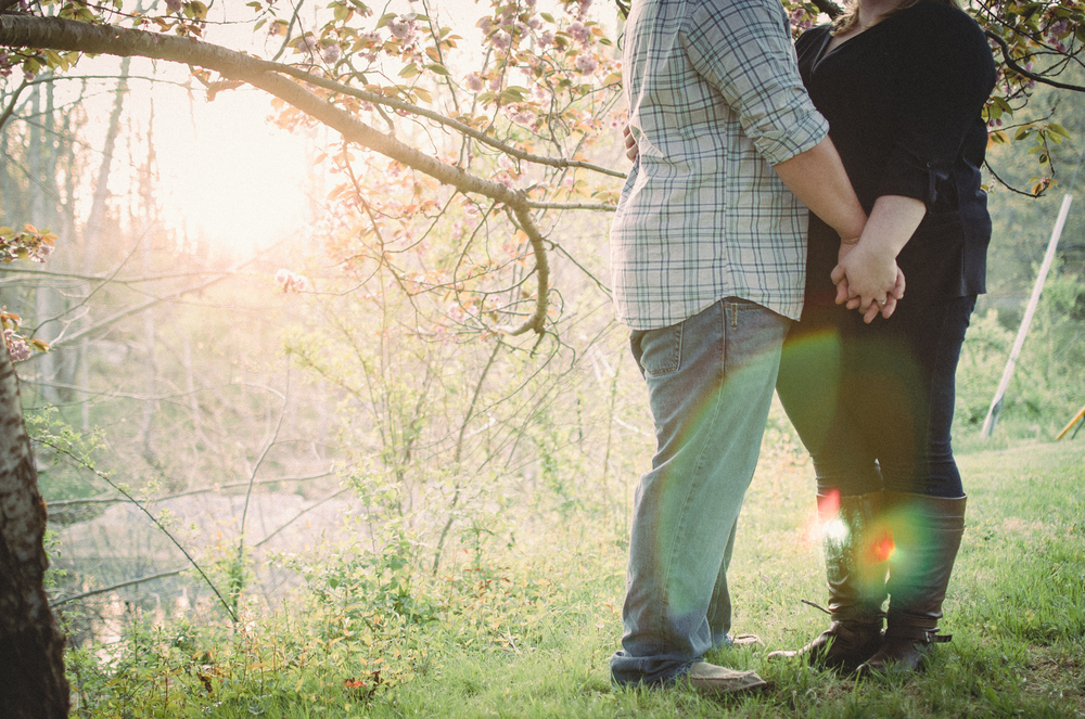 Chapmans Mill Engagement Session Photo