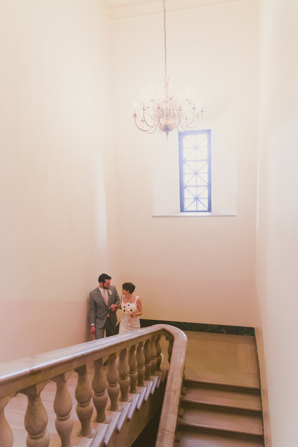 bride and groom portrait washington masonic temple alexandria va photo