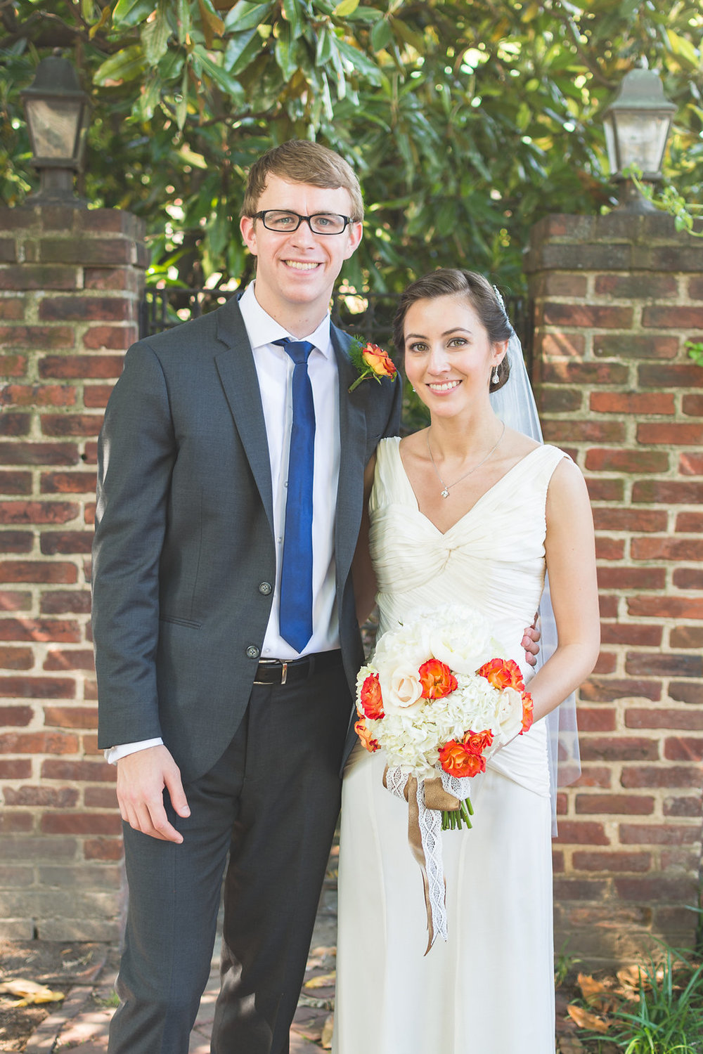 chic girl flowers bride groom wedding old town alexandria happy st mary catholic church