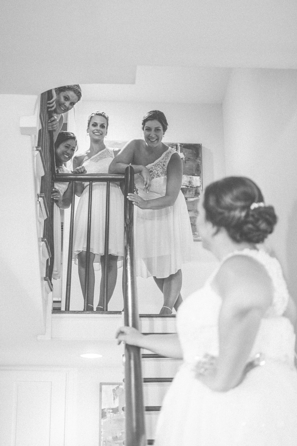 bridesmaids first look glen ellen farm