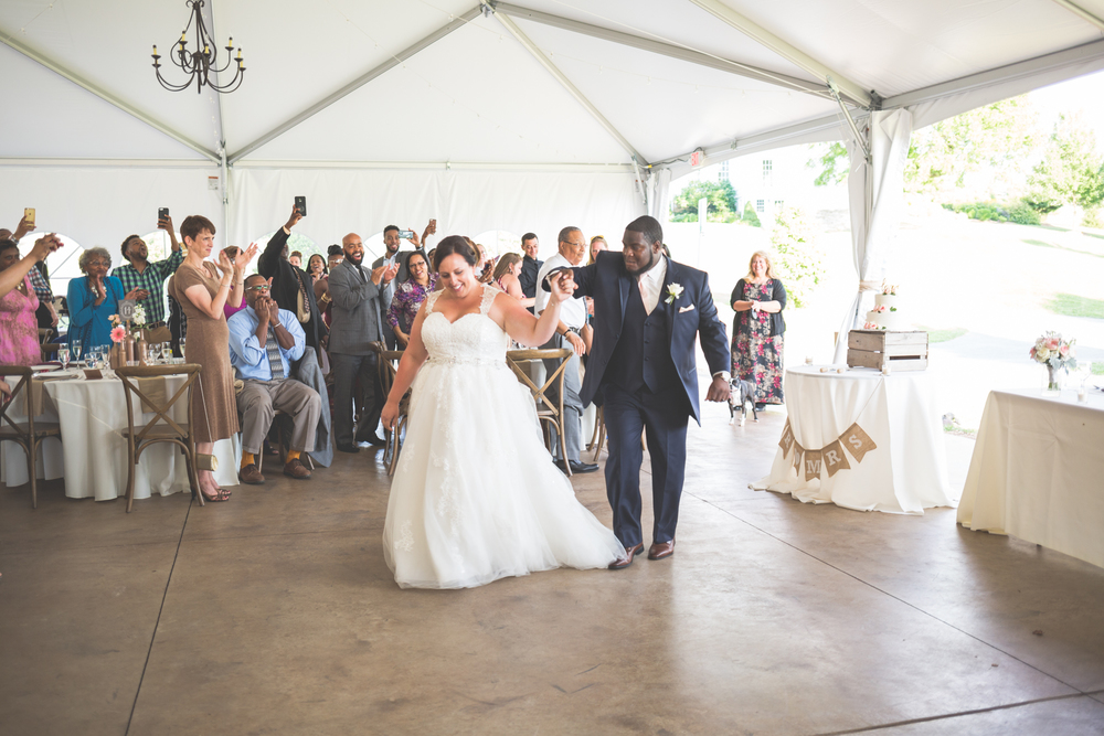 bride and groom first dance glen ellen farm