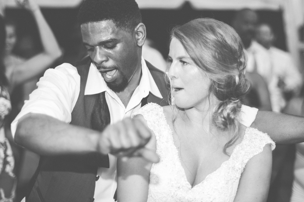 strong manor bride and groom dancing photo