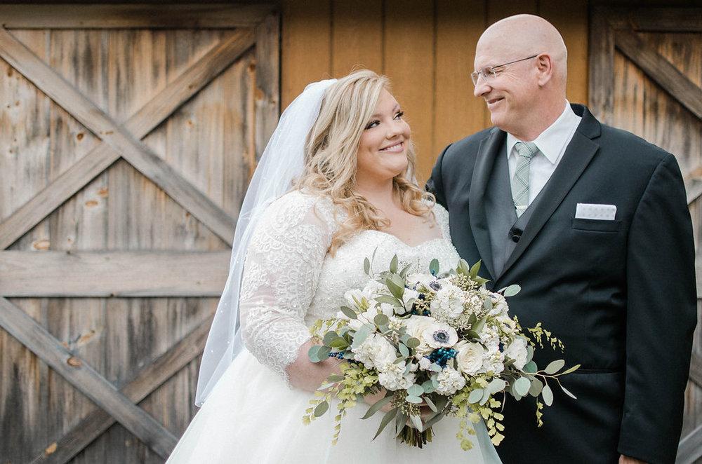 bride and dad photo