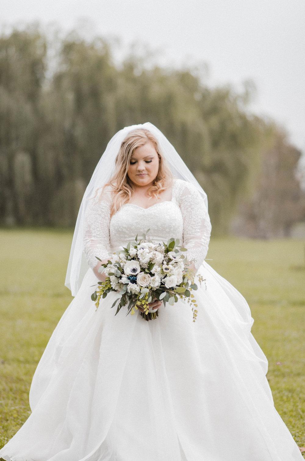 serra valley bride portrait photo