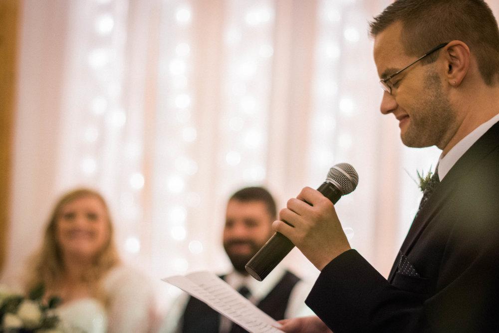 wedding man of honor toast speech photo