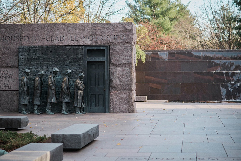 fdr memorial washington dc photo