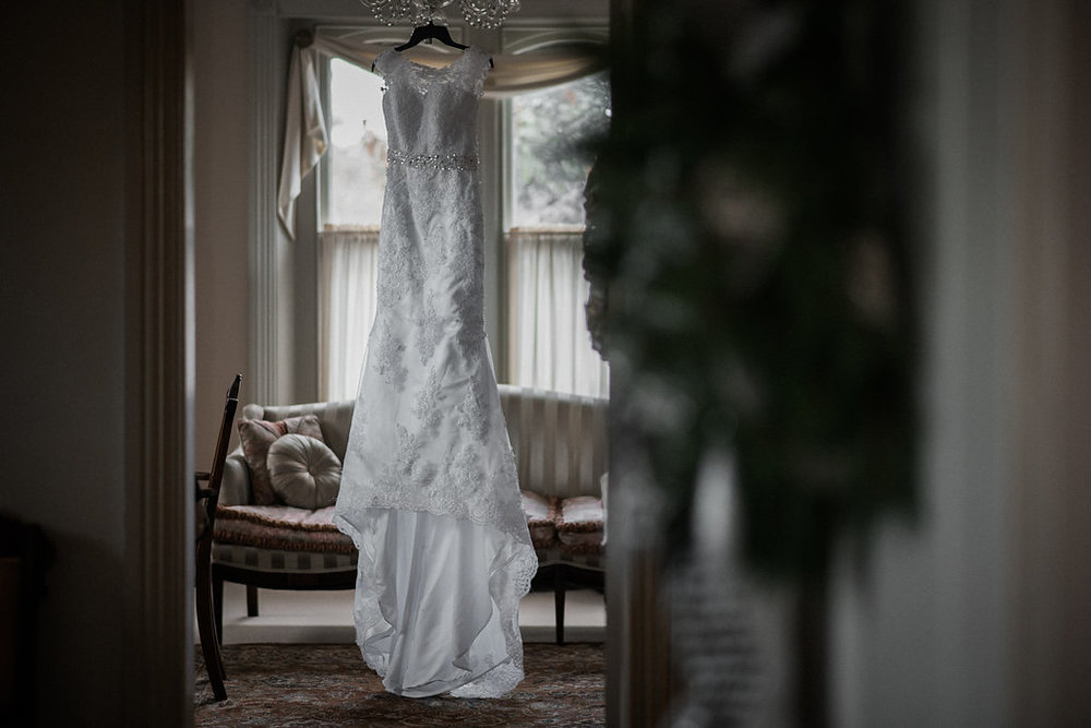 ceresville mansion wedding dress photo