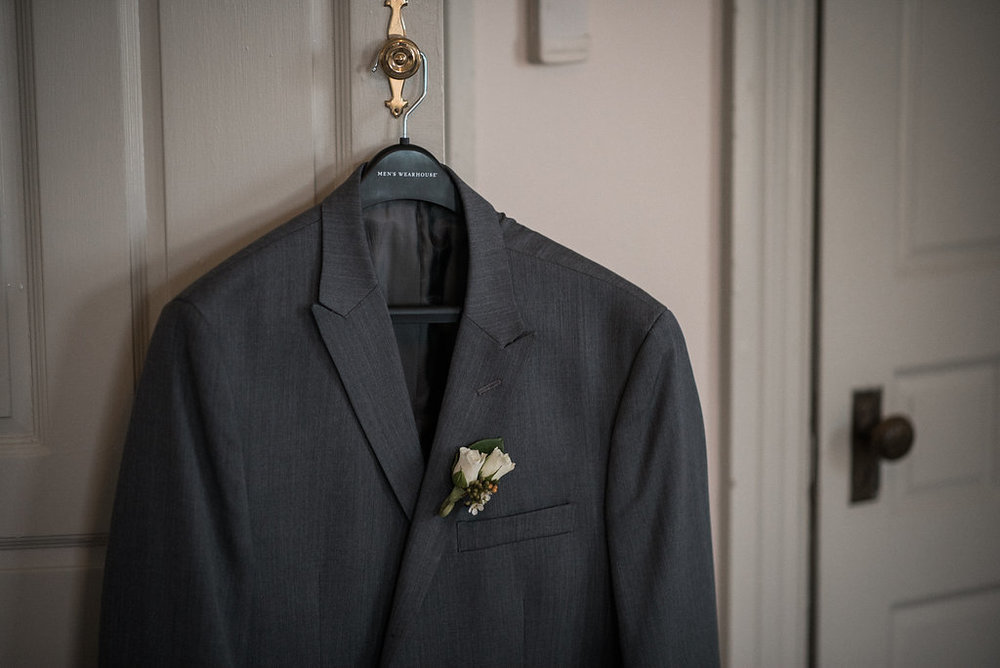 groom detail suit jacket photo
