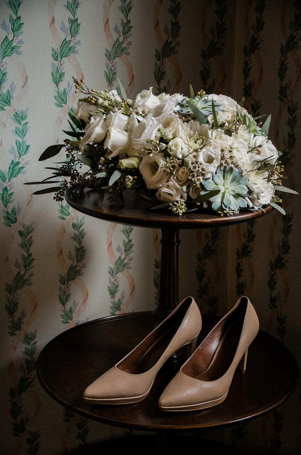 bride details at ceresville mansion photo