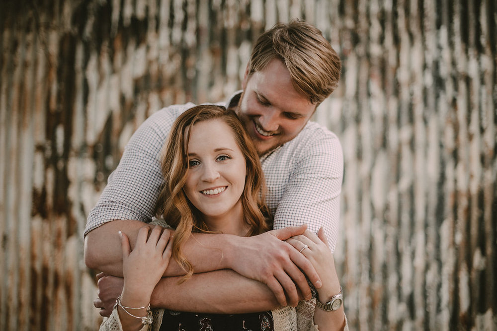 fredericksburg engagement seesion at the inn at the old silk mill photo
