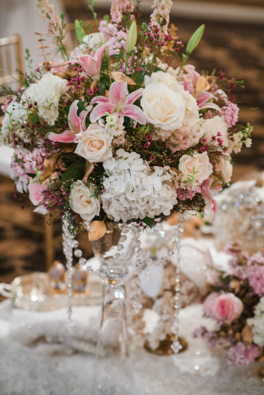 Wedding fower arrangements