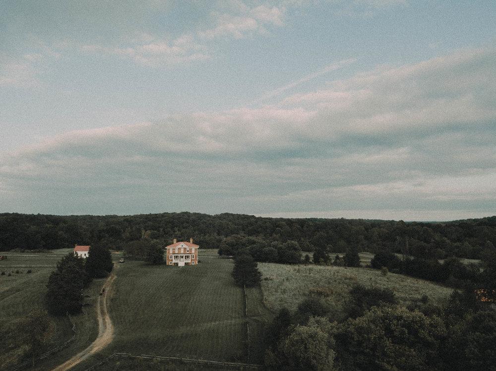 Old creepy farmhouse