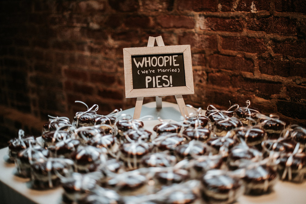Whoopie pies at reception