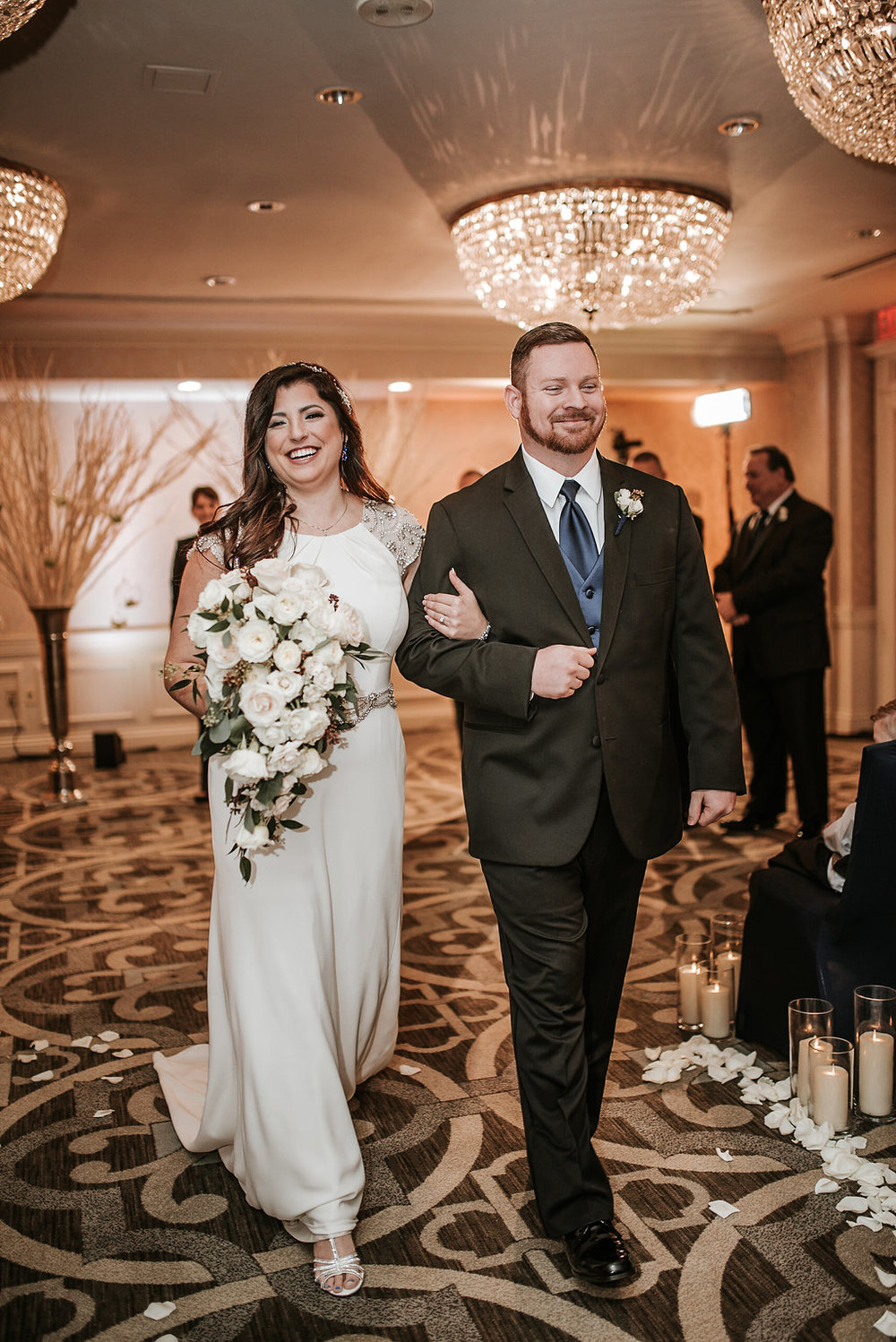 the madison dc hotel ceremony wedding photo