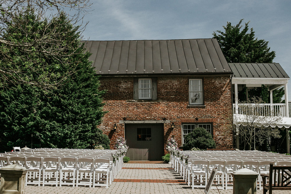 Historic wedding venue in Virginia