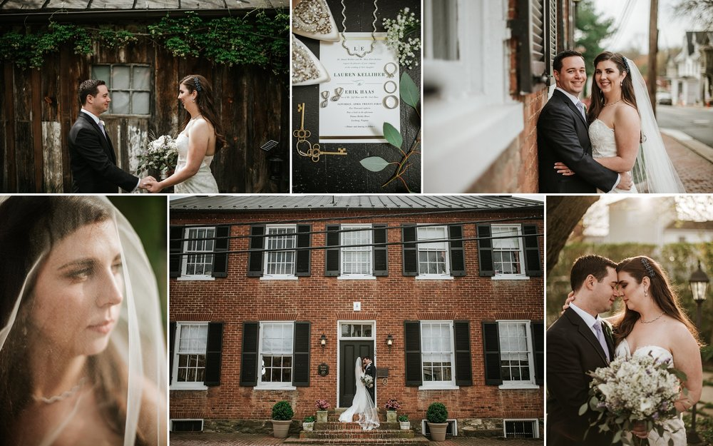 Historical Leesburg Spring Wedding