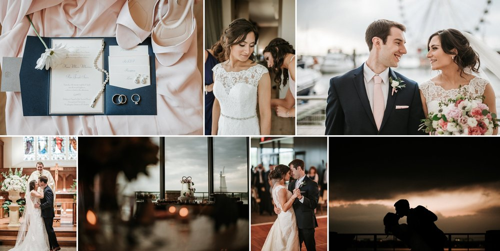 National Harbor Spring Wedding
