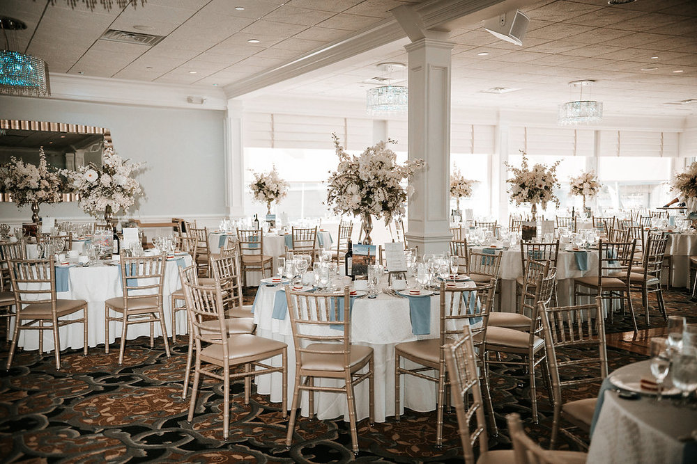 Reception Shot at Crystal Point Yacht Club