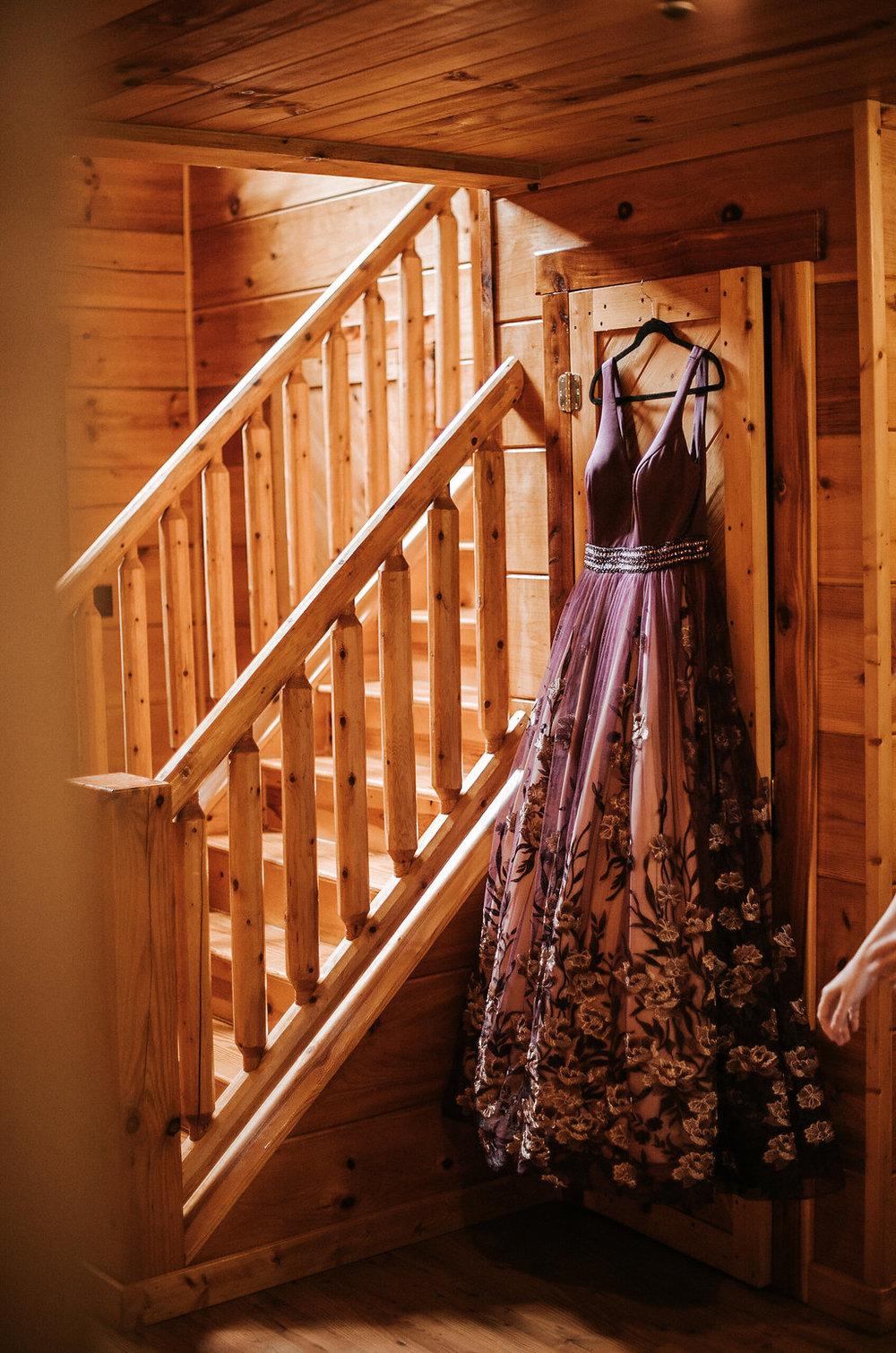 Bride Wedding Dress at The Pavilion Shenandoah Woods